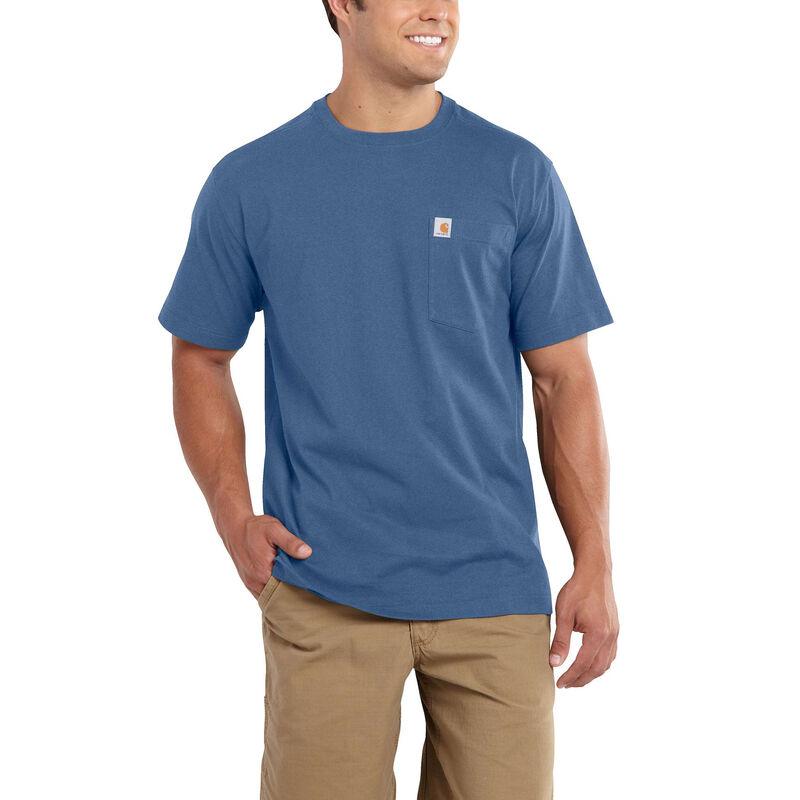 Carhartt Men's Maddock Pocket Short-Sleeved T-Shirt image number 5