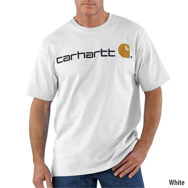 Carhartt Men's Signature Logo Short-Sleeve Tee