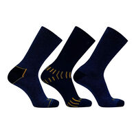DeWalt Men's Everyday Cotton-Blend Crew Work Socks, 3-Pack