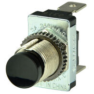 BEP SPST Momentary Contact Switch, Black, On/Off