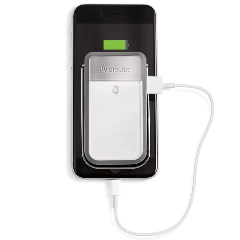 BioLite PowerLight Mini Clippable Lantern and Charge Port Combo, Gray image number 2