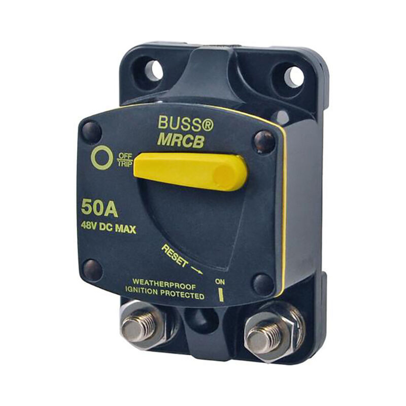 Blue Sea 187-Series Thermal Circuit Breaker, Surface-Mount, 35A image number 1