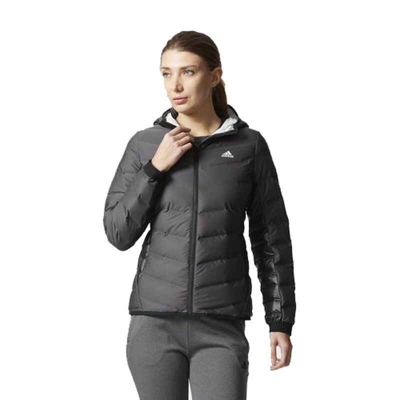 Adidas Women's Nuvic Hooded Down Jacket image number 1
