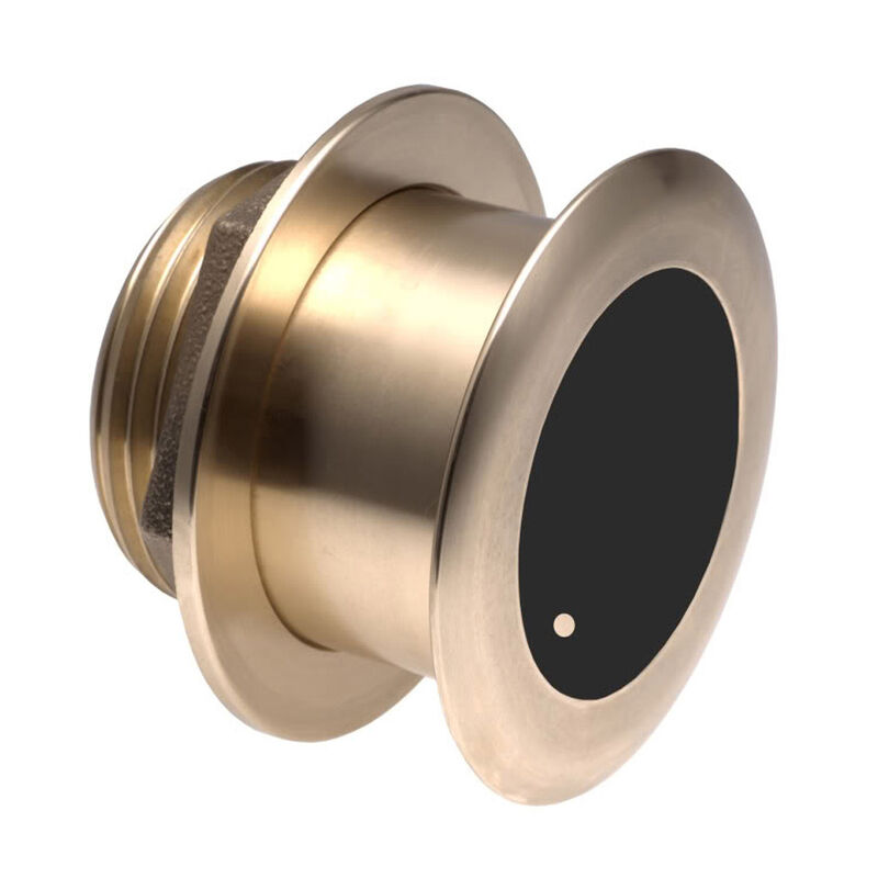 Garmin B175H Bronze 20° Tilted-Element Thru-Hull Transducer image number 1