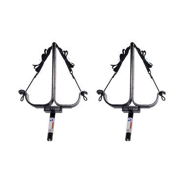 Manta Racks S2 Black Double Paddleboard Rack For 1-15° &1-30° Rod Holders