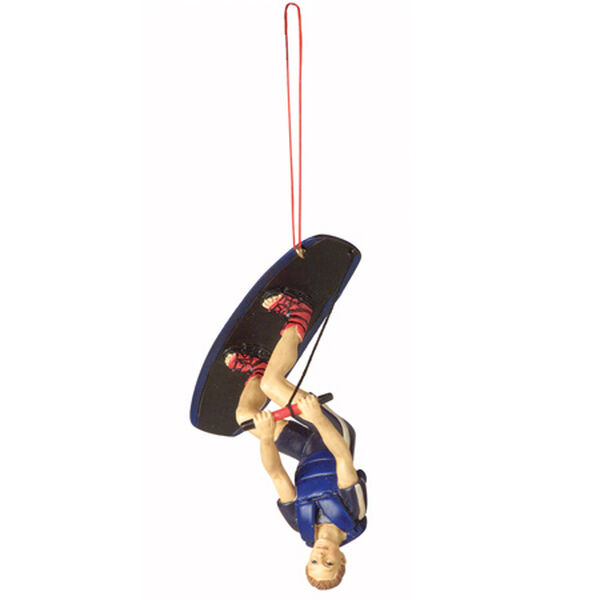 Wakeboarder Christmas Ornament