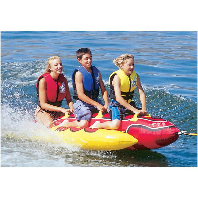 Airhead Hot Dog 3-Person Towable Tube image number 2