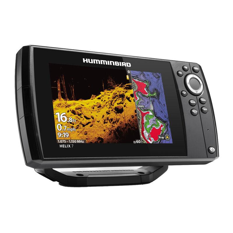 Humminbird Helix 7 CHIRP MEGA SI GPS G3 Fishfinder Chartplotter image number 2