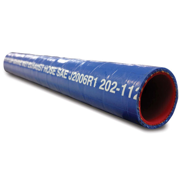 "Shields 2-1/2"" Silicone Water/Exhaust Hose, 6'L"