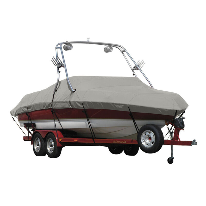 Exact Fit Sunbrella Boat Cover For Cobalt 200 Bowrider With Tower Covers Extended Platform image number 6