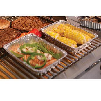 Aluminum Grilling Trays, Set of 6