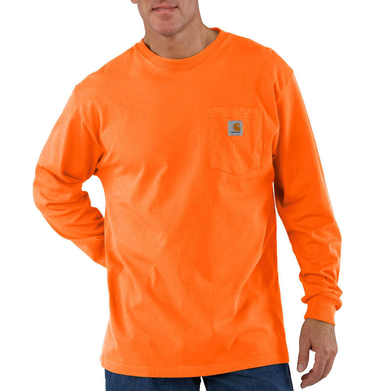 Carhartt Men's Workwear Long-Sleeve Pocket Tee image number 6