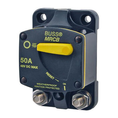 Blue Sea 187-Series Thermal Circuit Breaker, Surface-Mount, 25A