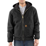 Carhartt Men's Quilted Flannel-Lined Sandstone Active Jacket