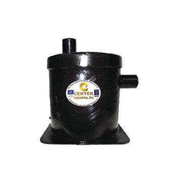 """Vernalift Wet Marine Exhaust Muffler, 1.5"""" Top/Side"""