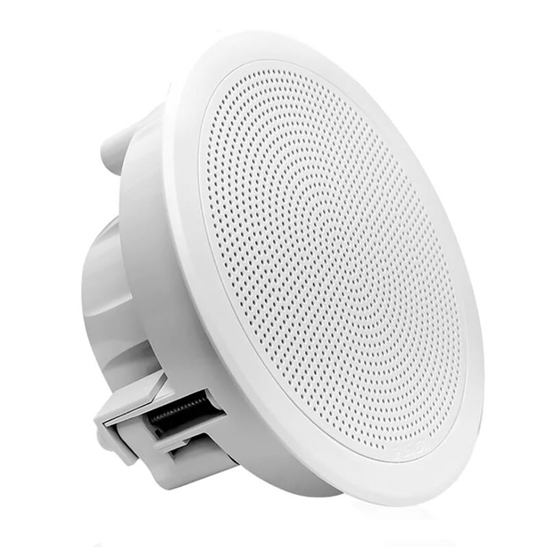 "FUSION FM-F65RW FM Series 6.5"" Flush Mount Round Marine Speakers image number 7"