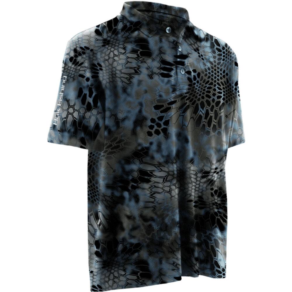 62ba0322147 Huk Men s Kryptek Icon Short-Sleeve Polo