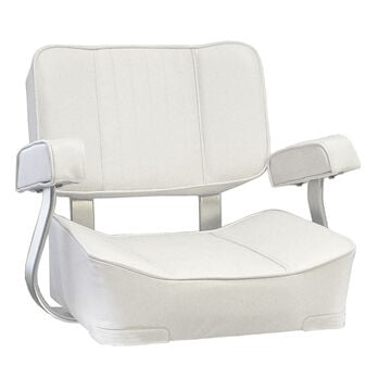 Springfield Deluxe Captain's Chair, White