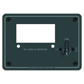 Blue Sea 120/240V AC Digital Meter Panel