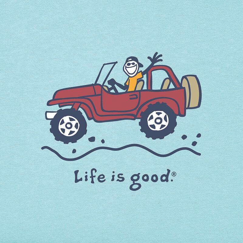 Life Is Good Men's Vintage Off-Road Jake Short-Sleeve Crusher Tee image number 2