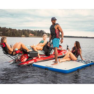 "Overton's Inflatable Floating Dock, 8' x 5' x 6"""