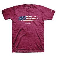 Simms Men's Flag Species Short-Sleeve T-Shirt