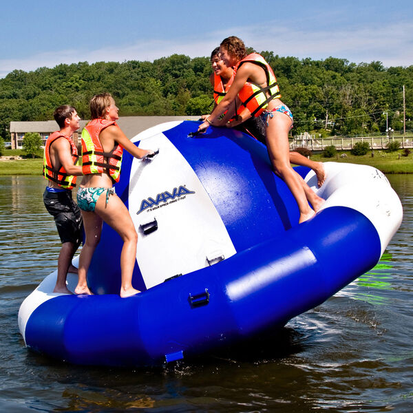 Rave Saturn Reinforced Floating Rocker, 12'