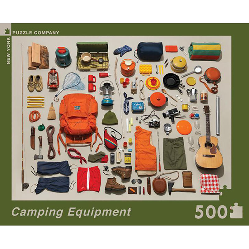 Camping Equipment 500-Pc. Jigsaw Puzzle image number 2