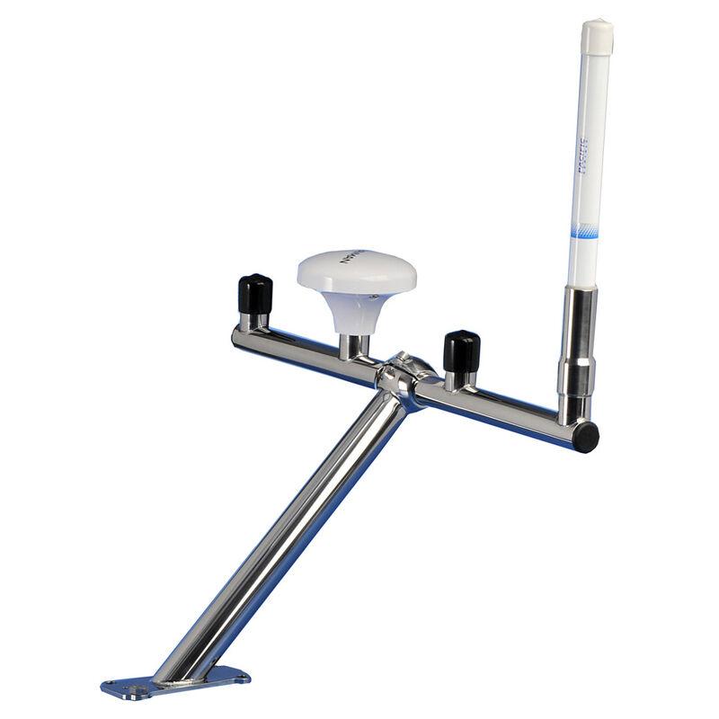 Scanstrut T-Bar Mount for 4 GPS/VHF Antennas image number 1