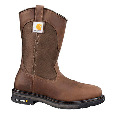 Carhartt Men's 11-Inch Square Toe Wellington Steel Toe Boot