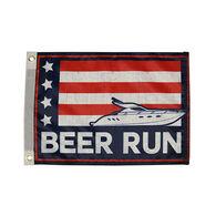 "Taylor Made Beer Run Flag, 12"" x 18"""