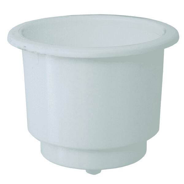 Deep Blue Recessed Cup Holder With Drain
