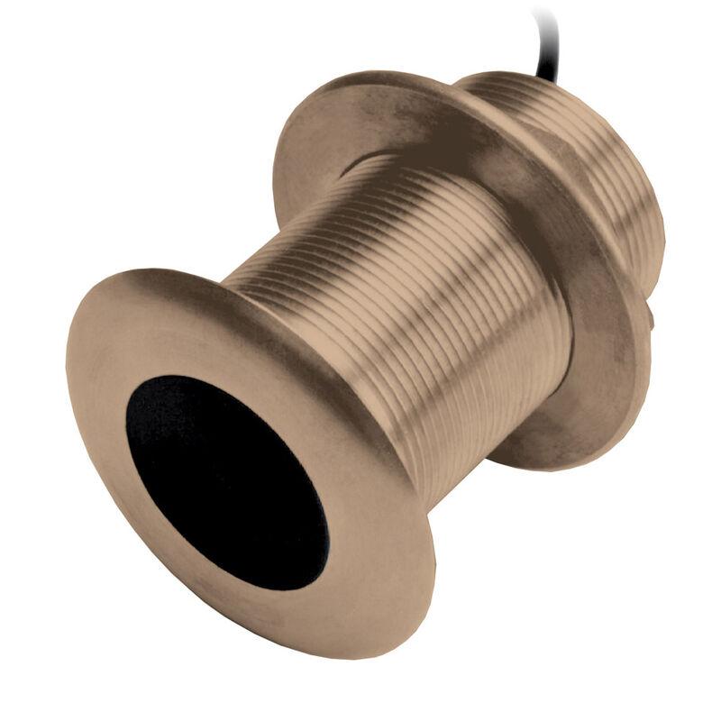 Garmin B75H Bronze 12° Tilted-Element Thru-Hull Transducer image number 1