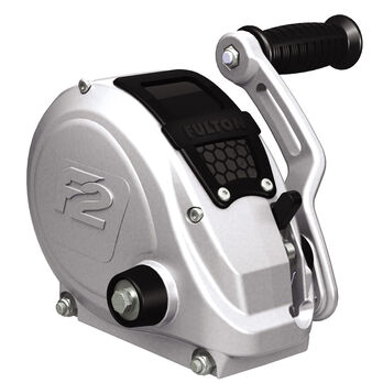 Fulton F2 Single-Speed Trailer Winch, 1,600-lb. Capacity