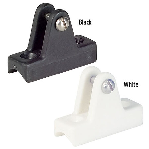 Bimini Top Fittings - Nylon Rail Mount, pr.
