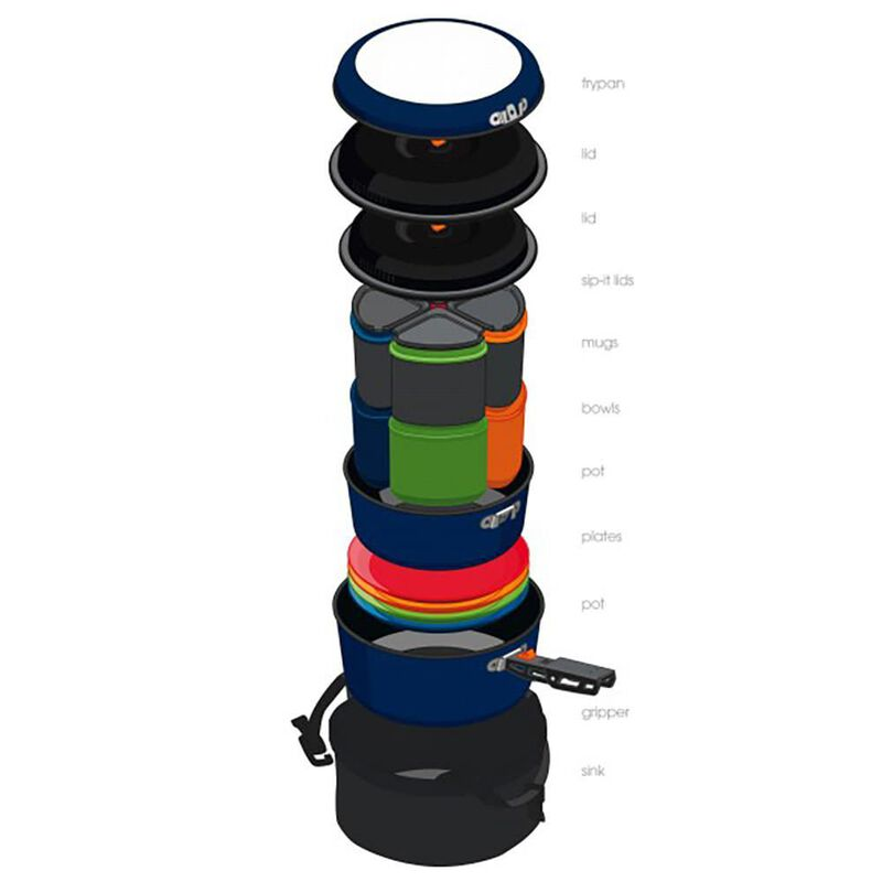 GSI Outdoors Bugaboo Camper Cookware Set image number 2