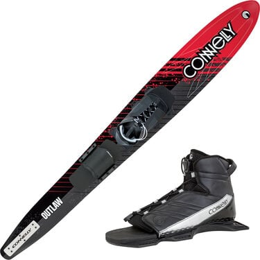 Connelly Outlaw Slalom Waterski With Nova Binding And Rear Toe Plate