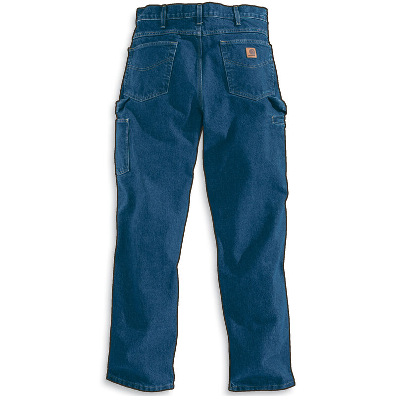 Carhartt Men's Relaxed-Fit Carpenter Jean image number 5