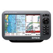 "SI-TEX SVS-1010CF 10"" Chartplotter/Sounder Combo w/Internal GPS Antenna & Navionics+ Card"