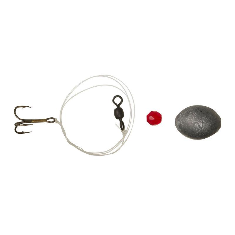 Little Stinker Tie 'N Go Dough Ball Bait Rig, 20-lb. Line, #4 Hook, 2 oz. Egg Sinker image number 1