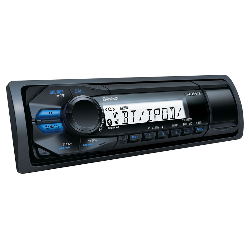 """Sony DSXM50BT Bluetooth Marine Stereo Package With 6.5"""" Speakers image number 2"""