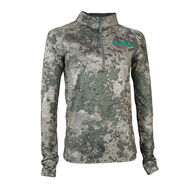 Girls With Guns Stalker Quarter-Zip Pullover