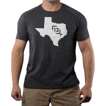 13 Fishing Onyx State Texas Tee