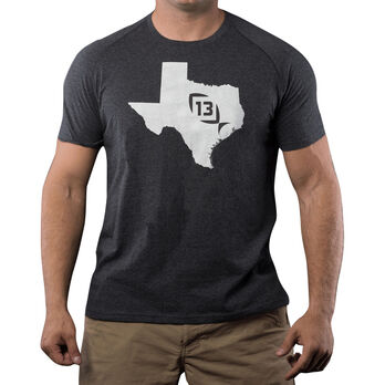 13 Fishing Onyx State Texas Tee