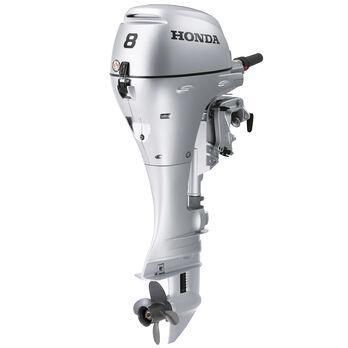 "Honda BF8 Portable Outboard Motor, Electric Start, 8 HP, 20"" Shaft"