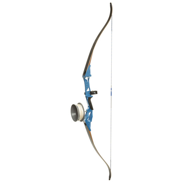 "Fin-Finder Bank Runner Bowfishing Recurve Bow Package, Blue, 58"", 35-lbs., RH"