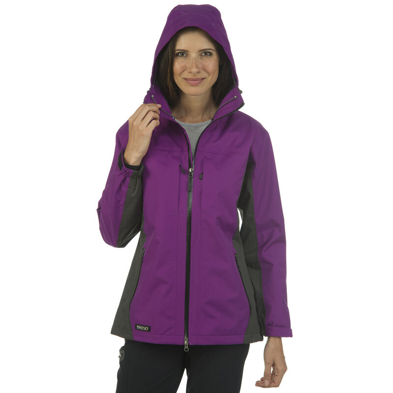 Ultimate Terrain Women's TecH2O Sheltered II Rain Jacket image number 19