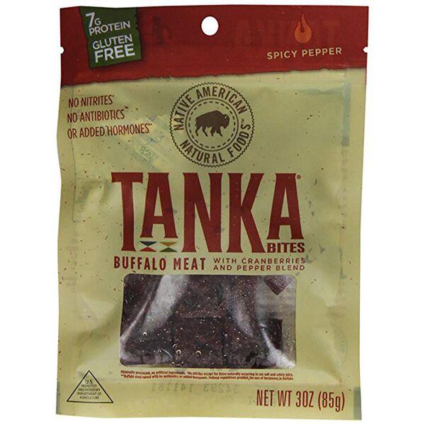 Tanka Bites Spicy Pepper Buffalo Jerky, 3 oz.