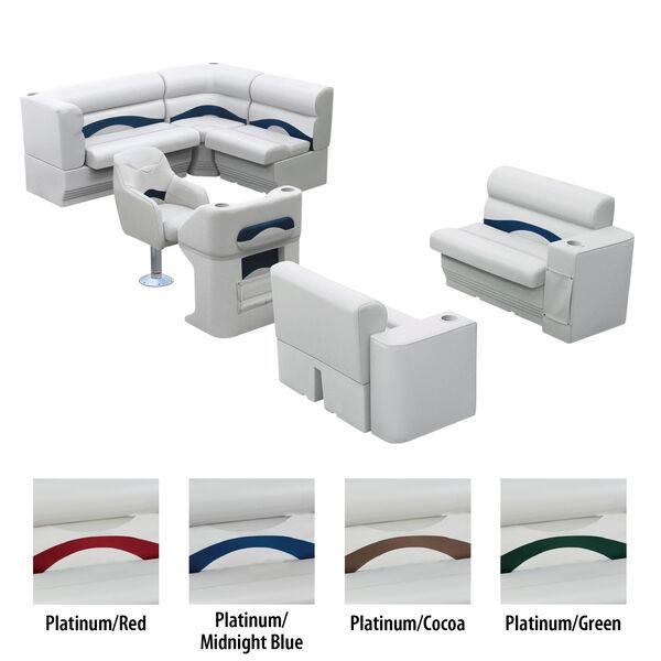 Toonmate Premium Pontoon Furniture Package, Complete Boat Package C