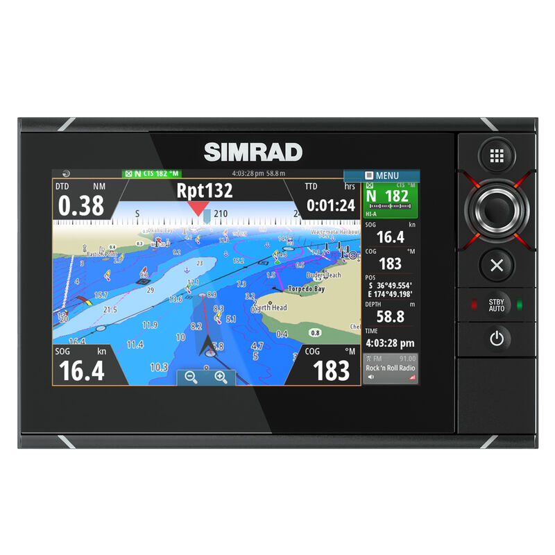 Simrad NSS7 evo2 Combo Multifunction Display with Insight USA Charts image number 1